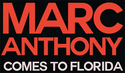 Marc Anthony in Florida
