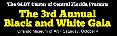 The Center: Black and White Gala
